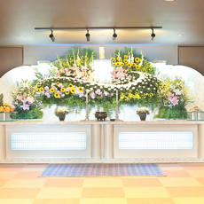 低価格ご葬儀プラン祭壇例