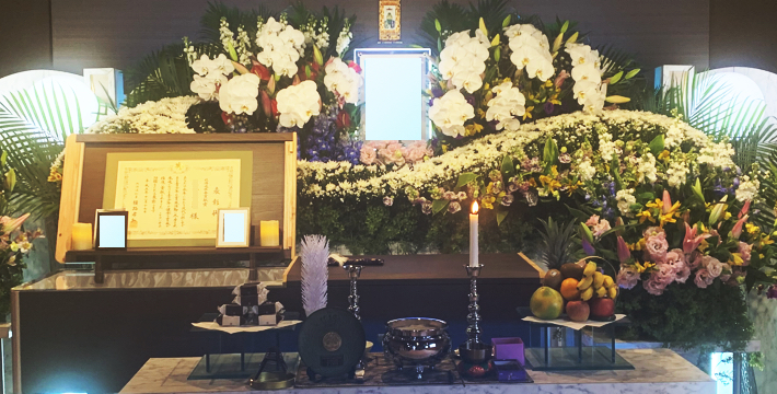 ファミリーホール月寒祭壇例No.6
