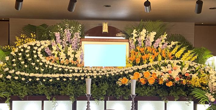 ファミリーホール月寒祭壇例No.7