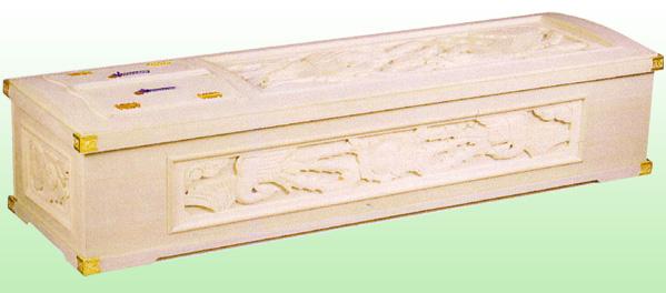 桐五面彫刻棺正安