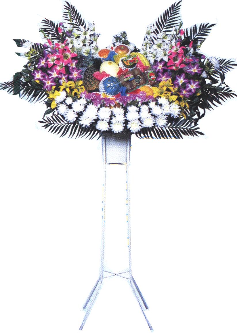 シルク花輪 13,200円