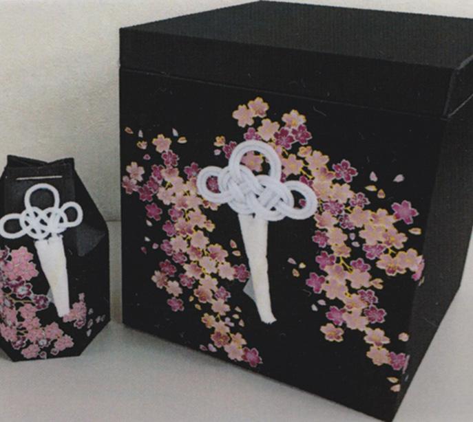 みやび桜布張箱