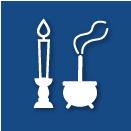 お線香、蝋燭一式